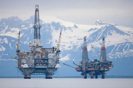 Alaska Oil Rigs