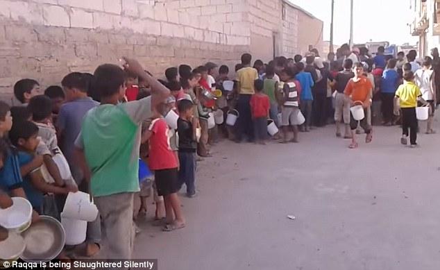 ISIS Food Line