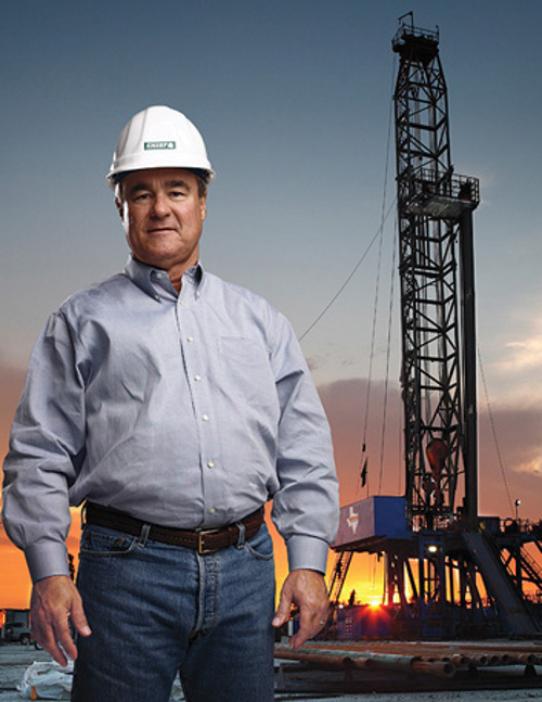rees-jones at the oil rig