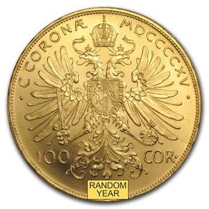 Austrian Gold 100 Coronoa Reverse