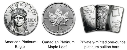 june 2016 physical platinum