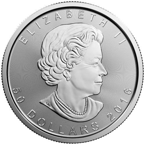 2016 Platinum Maple Leaf Obv