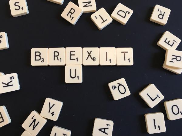 Brexit scrabble piece