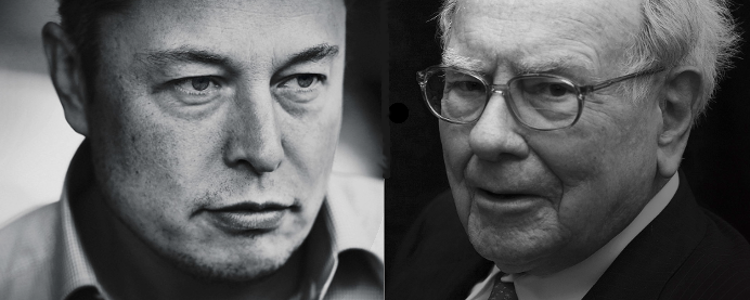 Musk and Buffett: Clash of the Titans