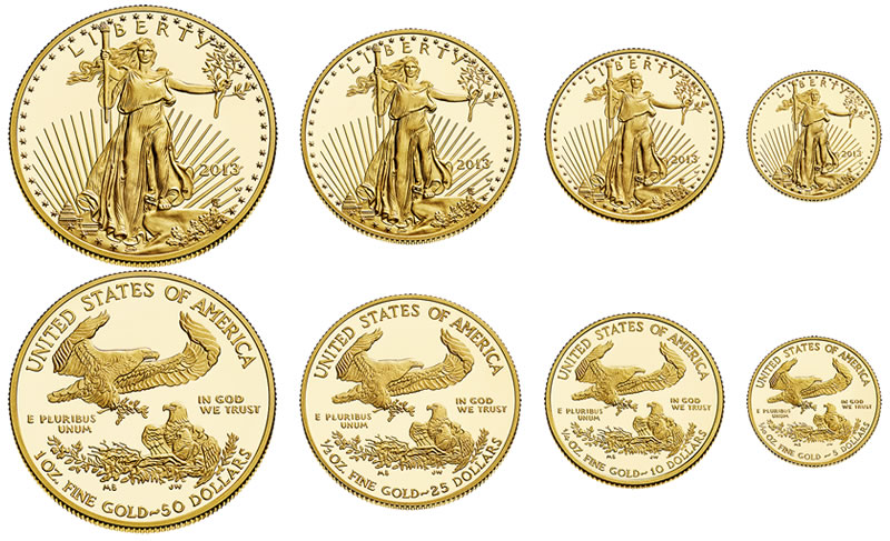 American Gold Eagles August 2016