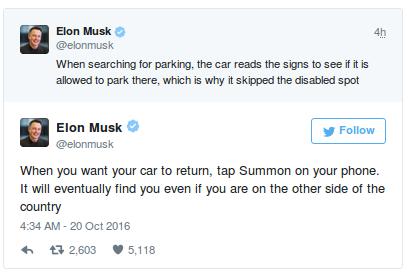 Elon Tweets