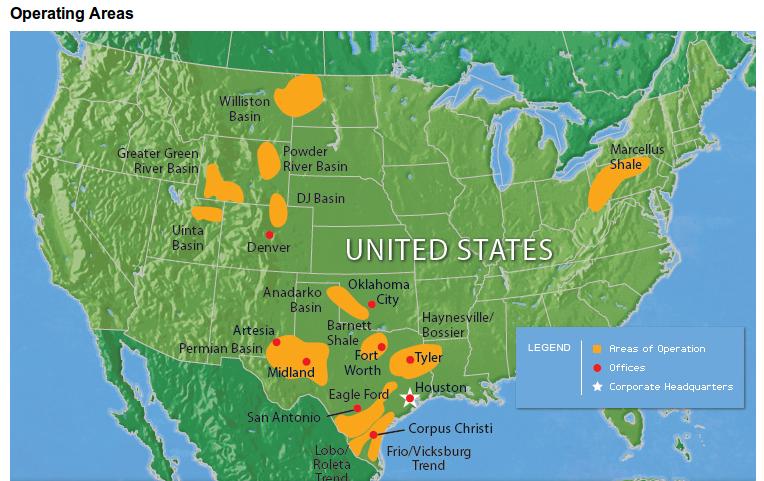EOG Map