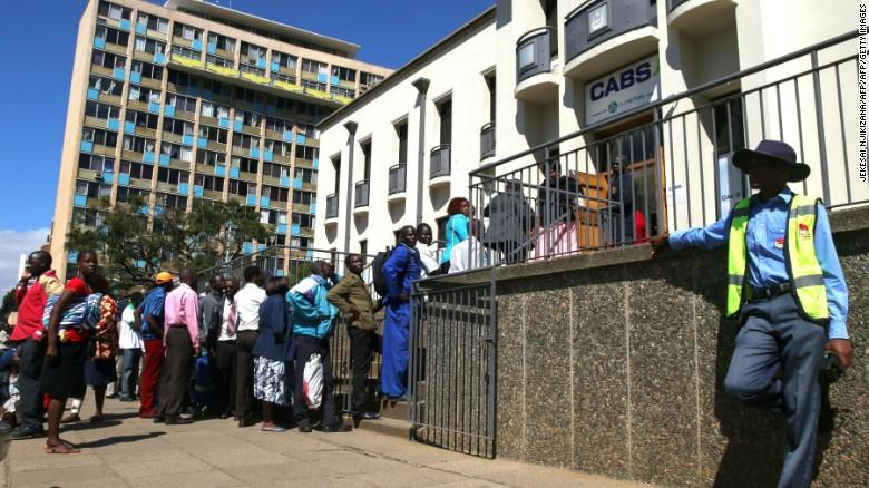 Zimbabwe Bank Line Nov 18 2016
