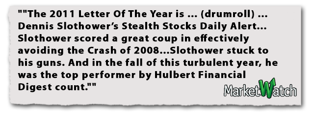Dennis Slothower Wall Street Underground Stealth Stocks