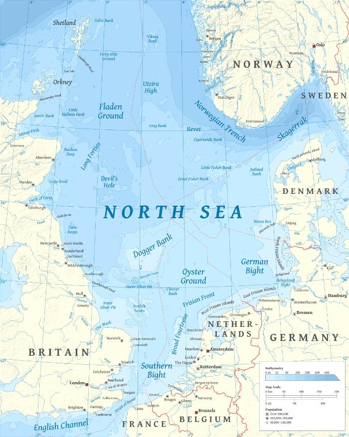 north sea report