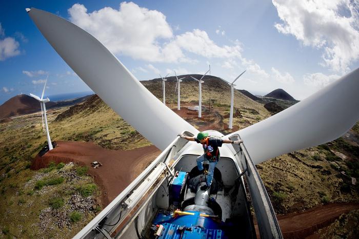 Inner Wind Turbine