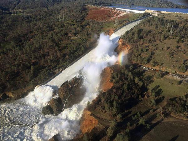 Oroville Dam 43432