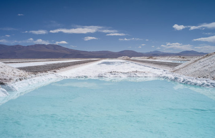 Argentina Lithium Salt Flat