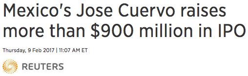 Jose Cuervo IPO
