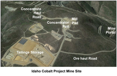 Idaho Cobalt Project Mine Site