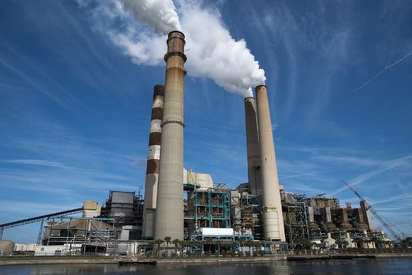 Smoke Stacks%2C Renewable Energy.