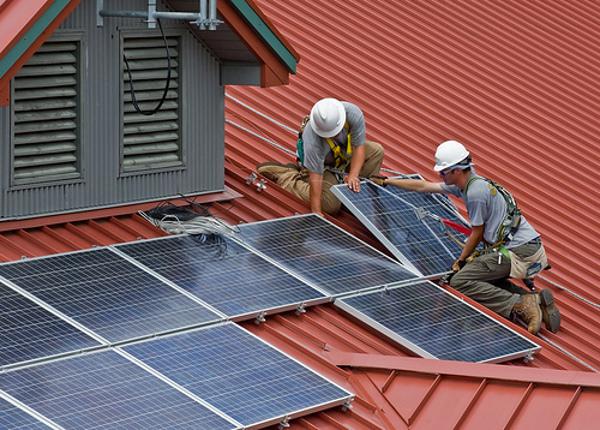solar panels roof 232