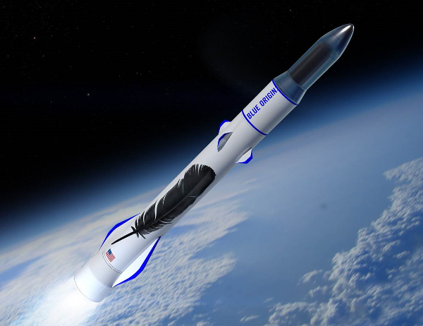 Blue Origin Space X