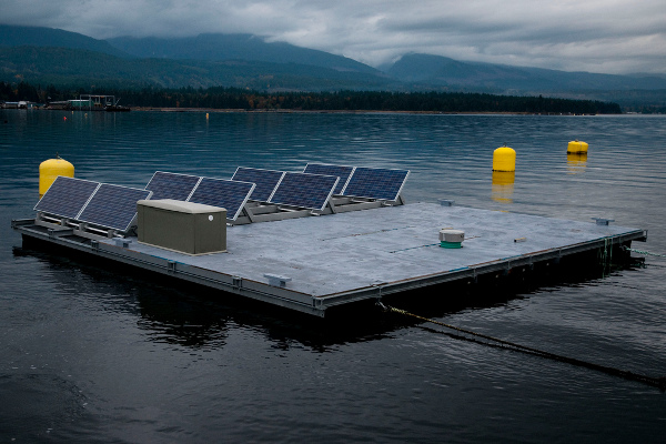 floating solar china