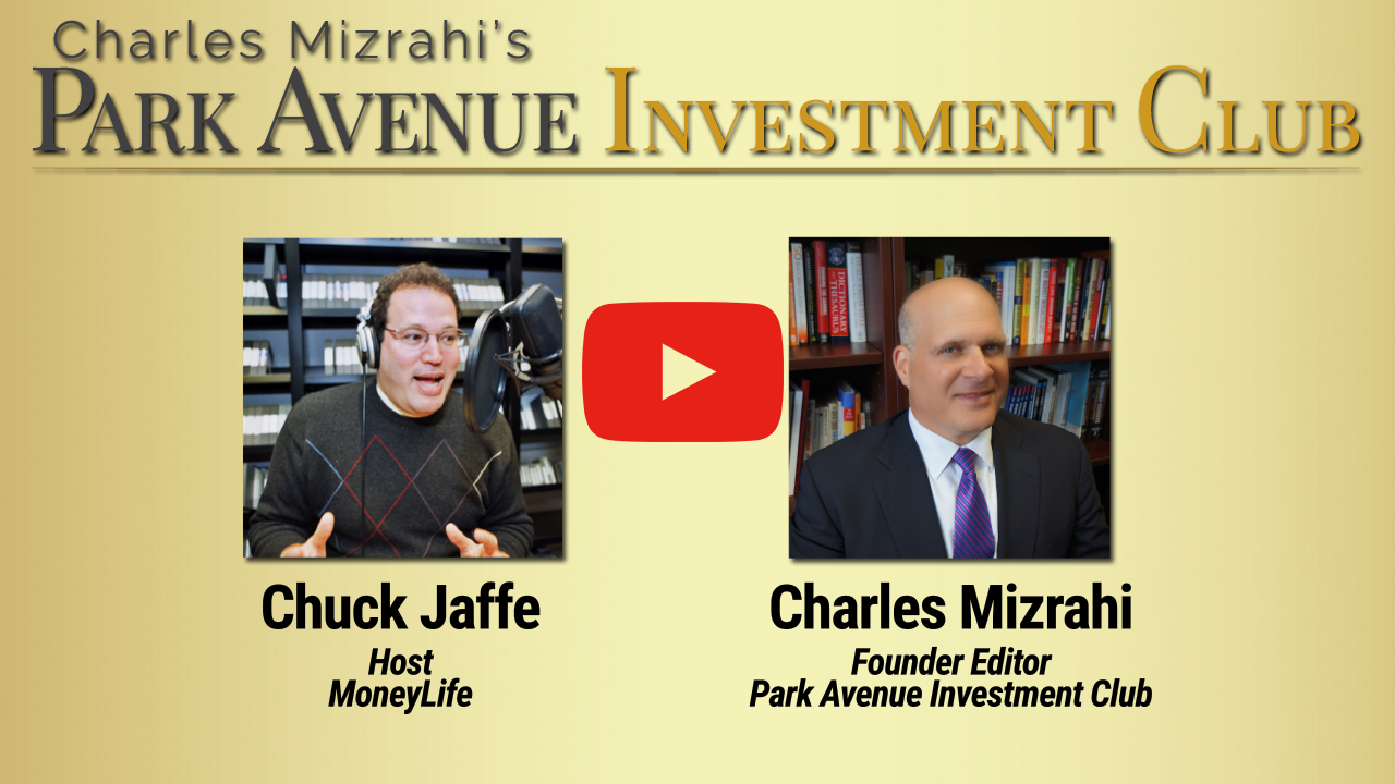 Charles Mizrahi Interview with Chuck Jaffe on MoneyLife Thumbnail