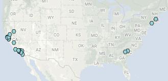 U.S. Hydrogen Fuel Stations