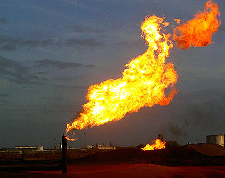 ExxonMobile Reducing Methane NatGas Flare
