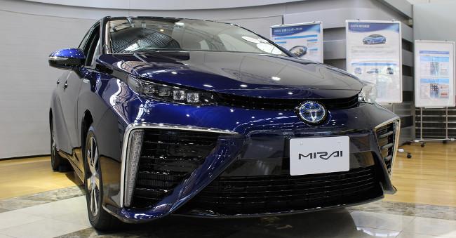 Toyota Mirai Blue